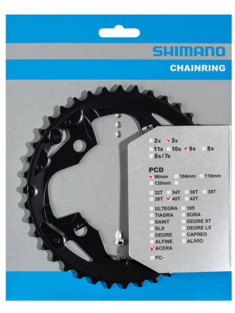 Shimano Acera FC-M3000 Kettenblatt 9-fach AX schwarz